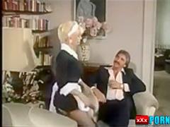 Maid Woman Gives Nice Blowjob And Fuck Hard