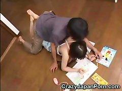 Japanese Teen Abused!