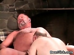 Cabin mountain sex with gay bears part5