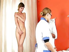Special medical test for young shy couple