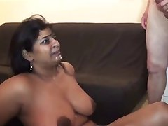 Latina fucked by white guy