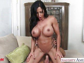 Superb mom Jewels Jade fucking a sexy stud