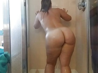 Join her in the shower maybe?