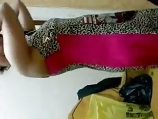 Egyptian wife Dance at Home