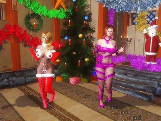 Skyrim - Sexy Dance #18 Christmas Special (Remake)
