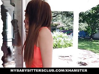MyBabySittersClub - Petite Baby Sitter Fucked On New Years