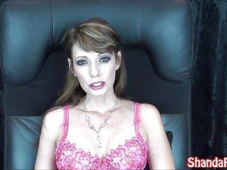 Kinky Milf Shanda Fay Gives Sucks Cock in Stockings!