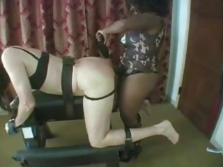 slave Fucked Up The Ass By Domme