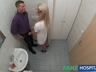 FakeHospital Nurse sucks dick for sperm
