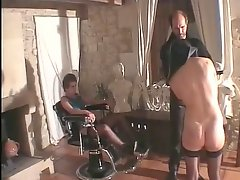 Two french slaves fisted PART1
