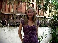 Sexy little blonde teen